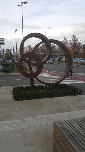 Ljubljana BTC - Wooden Circles