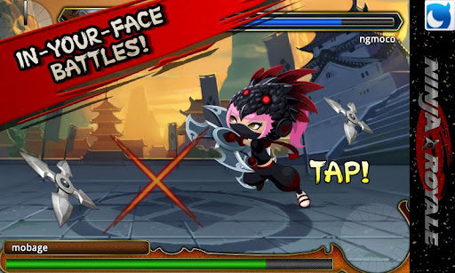 ninja-action-rpg-ninja-royale for android screenshot