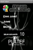 Screenshot of Brain Colors (Español)