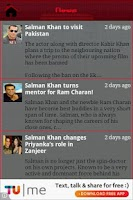 Screenshot of Salman Khan Fan App