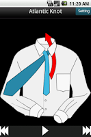 Screenshot of Necktie Knot