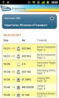 Screenshot of Railteam Mobile