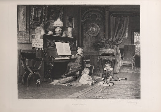 William Henry Lippincott was an American painter who studied in Europe. This photogravure is also found in Sheldon's publication <i>Recent Ideals of American Art</i>.