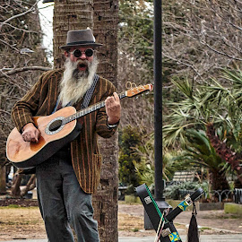 Guitar Man by Carol Plummer - People Musicians & Entertainers (  )