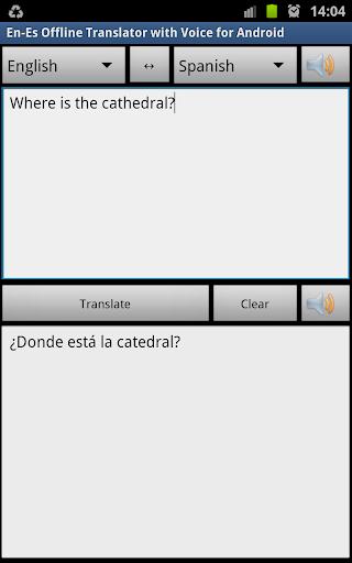Spanish Offline Translator Pro