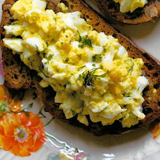 Open-Face Egg Salad Sandwich Recipe