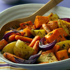 Oven-Roasted Autumn Vegetables