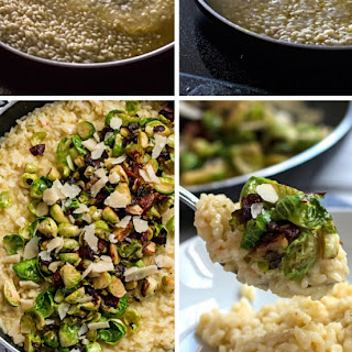Bacon and Brussels Sprout Risotto