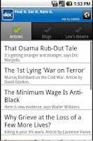 Screenshot of LewRockwell.com for Android