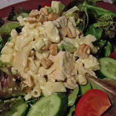 Curried Pasta and Chicken Salad