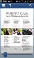 Screenshot of Canon – Parempia kuvia