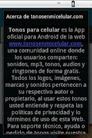 Screenshot of Tonos para Celular