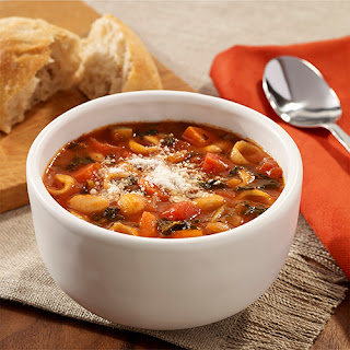 White Bean and Kale Minestrone Soup