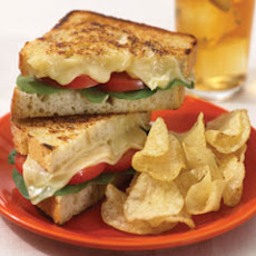 Tomato & Swiss Grilled Sandwiches