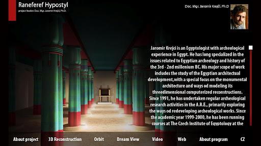 Egypt Raneferef's Hall 3D