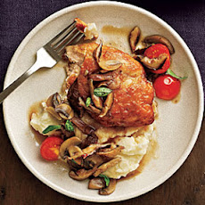 Chicken and Mushrooms with Marsala Wine Sauce