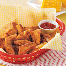 Cajun Chicken Fingers with Spicy Ketchup