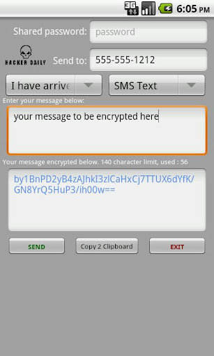 Encrypted Messages Plus