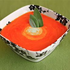 Roasted Red Pepper Soup = Healthy!