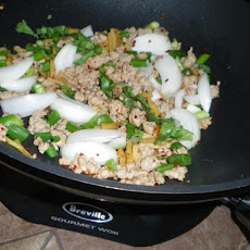 Ginger Ground Pork