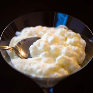 Homemade Tapioca Pudding