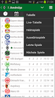 Screenshot of Borussia Mönchengladbach App