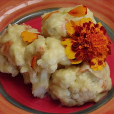 Cauliflower With Marigold Sauce