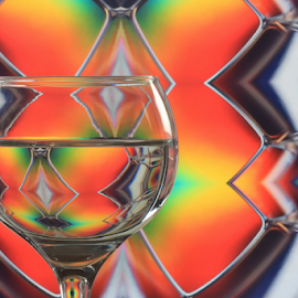Happy Holidays! by Michael Schwartz - Artistic Objects Glass