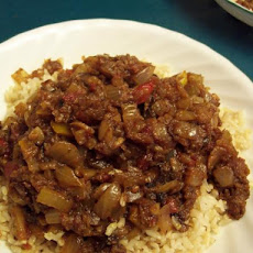 New Orleans Mulate's Catfish Jambalaya