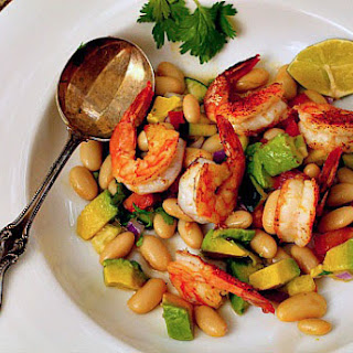 Roasted Shrimp Salad for SRC