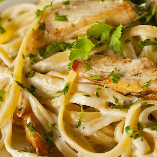 Easy Chicken Fettucini Pasta