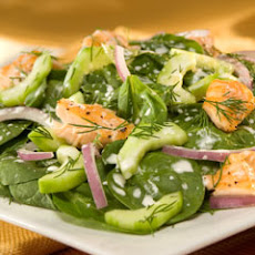 Dill Spinach Salad