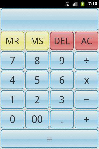 SimpleCalc Calculator