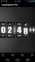Screenshot of 3D Rolling Clock PRO