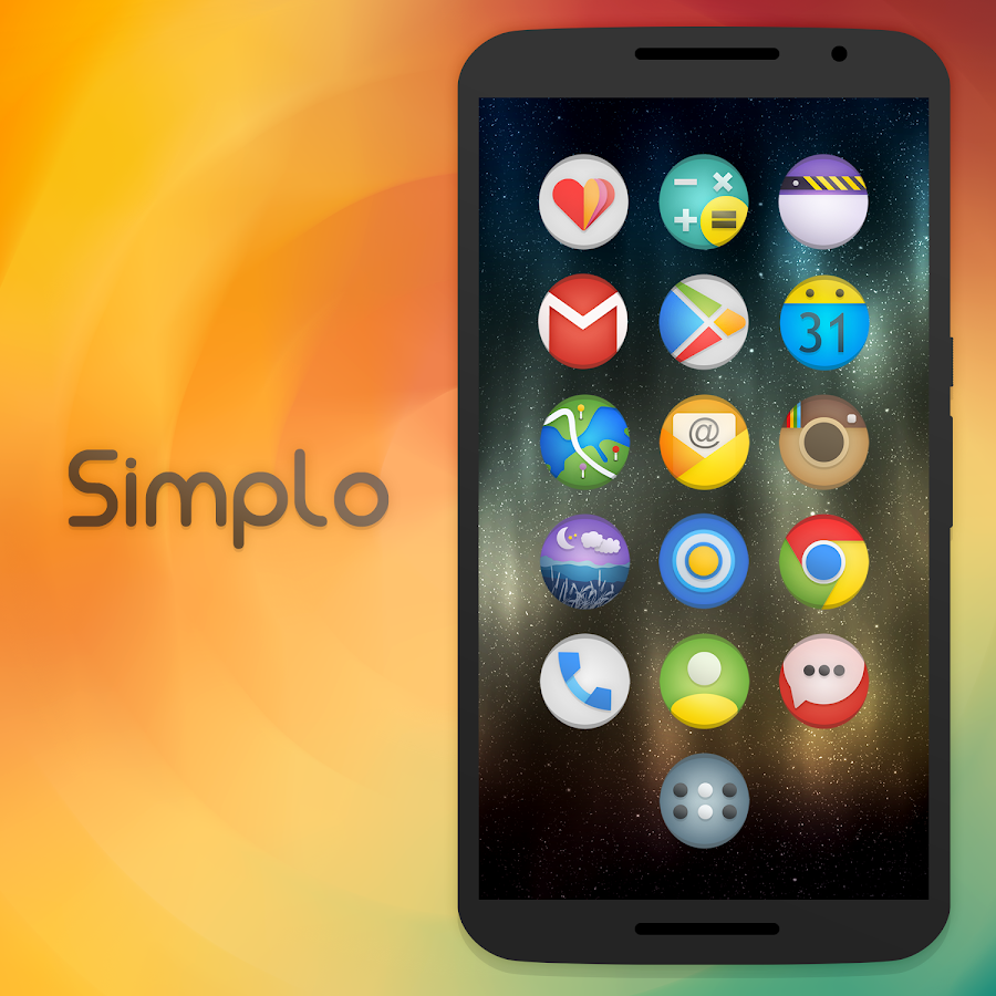 Simplo - Icon Pack Screenshot 6