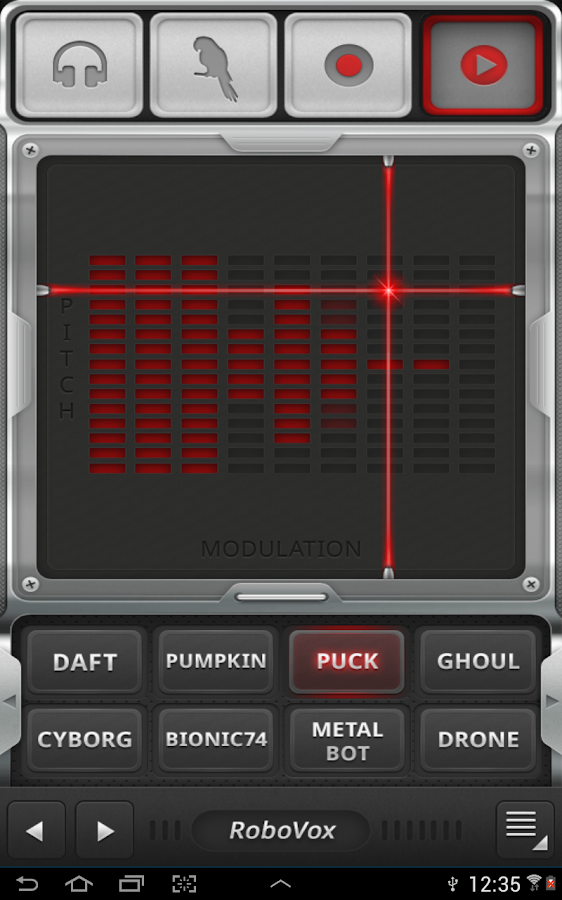 RoboVox Voice Changer Pro Screenshot 2