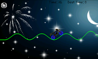 Screenshot of Neon Bike Ride