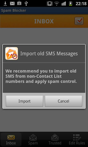 SMS Spam Blocker