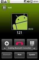 Screenshot of In-App Bluetooth Toggle