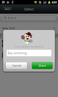 Screenshot of Top Stickers For WeChat