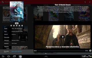 Screenshot of Full Cine: Cartelera de Perú