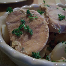 Easy Pork Chops Dinner - Crock Pot