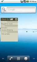 Screenshot of CheckItOff - to-do list