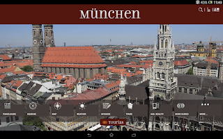 Screenshot of Munich Travel Guide - TOURIAS
