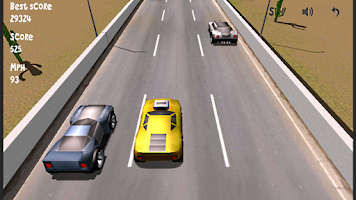 Screenshot of Lane Racer 3D