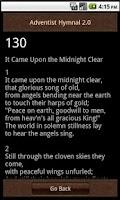Screenshot of Adventist Hymnal