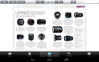 Screenshot of Professional Photographer