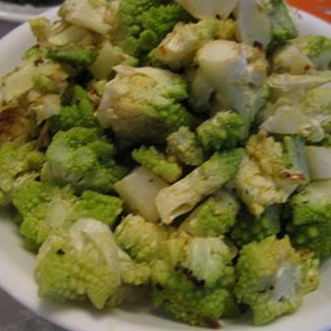 Roasted Romanesco