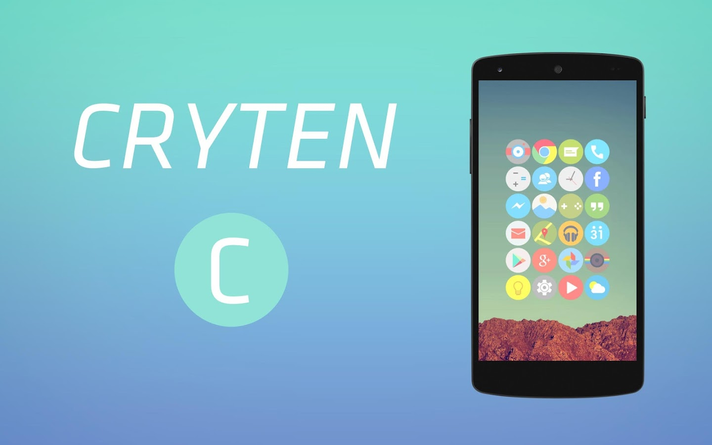 Cryten - Icon Pack Screenshot 8