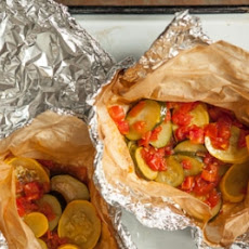 Marinated Summer Squash Grilling Packs